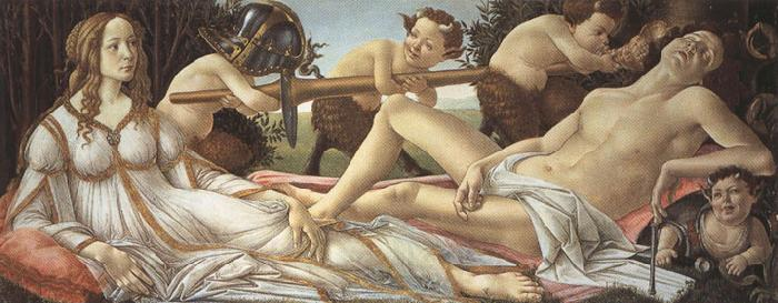 Sandro Botticelli Venus and Mars (mk36)
