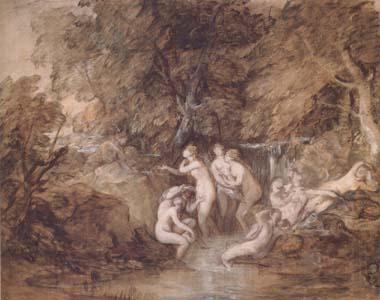 Thomas Gainsborough Diana and Actaeon (mk25)