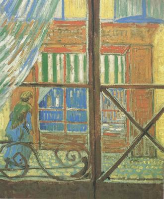 Vincent Van Gogh A Pork-Butcher's Shop Seen from a Window (nn04)