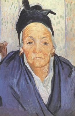 Vincent Van Gogh An Old Woman of Arles (nn04)