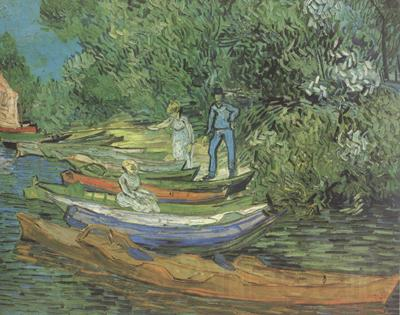 Vincent Van Gogh Bank of the Oise at Auvers (nn04)