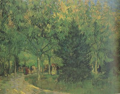 Vincent Van Gogh A Lane in the Public Garden at Arles (nn04)