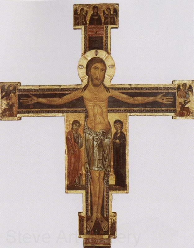 Berlinghiero Berlinghieri Crucifix panel