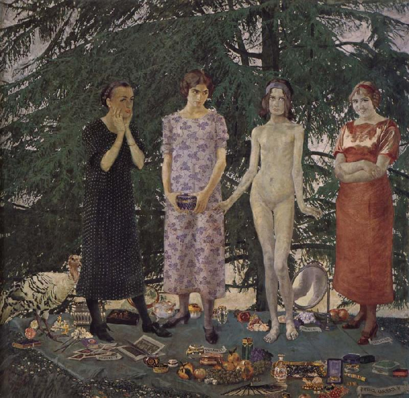 Felice Casorati Recreation by our Gallery