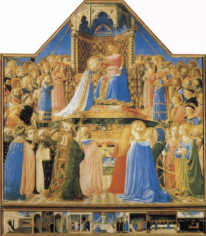 Fra Angelico The Coronation of the Virgin