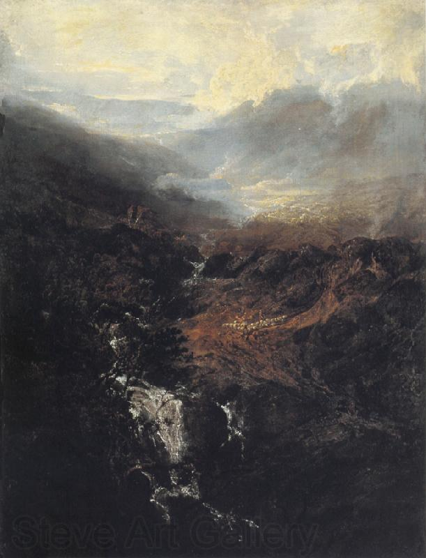 J.M.W. Turner Morning amongst the Coniston Fells