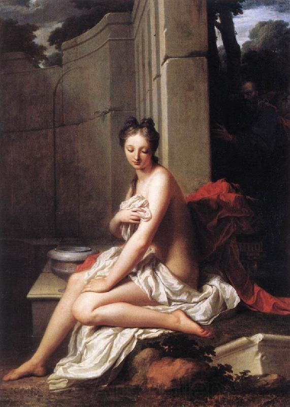 Jean-Baptiste Santerre Susanna at the Bath