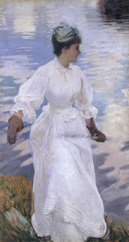 John Singer Sargent Lady Fishing Mrs Ormond