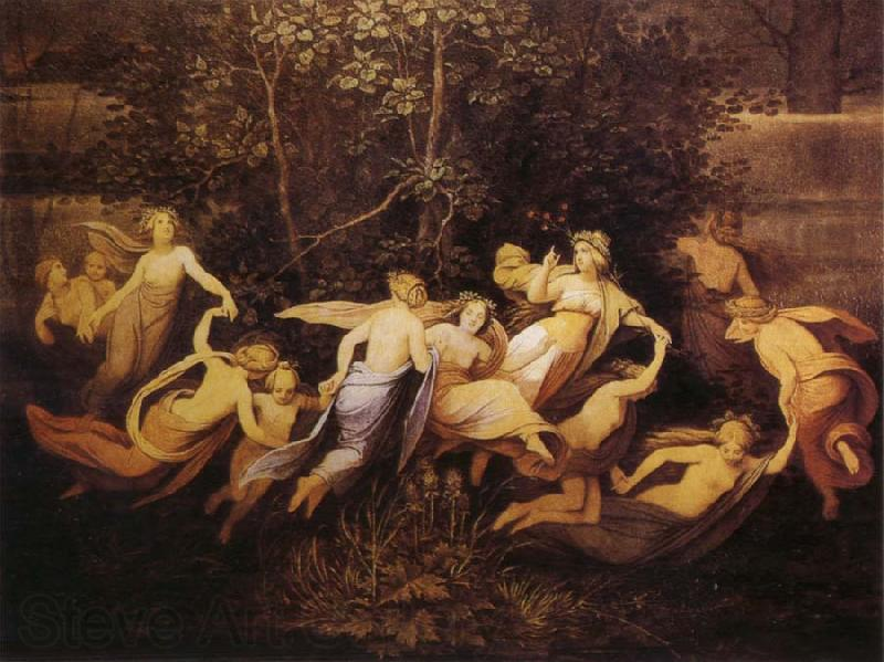Moritz von Schwind Fairy Dance in the Alder Grove