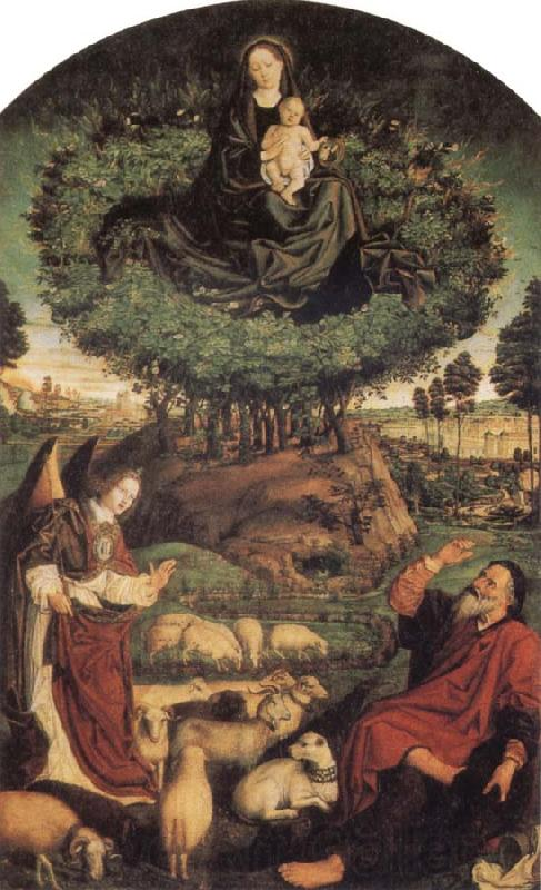 Nicolas Froment Moses and the Burning Bush