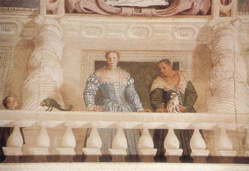 Paolo Veronese Giustiana Barbaro and her Nurse