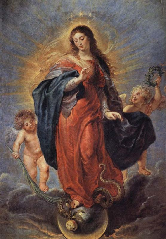 Peter Paul Rubens Immaculate Conception