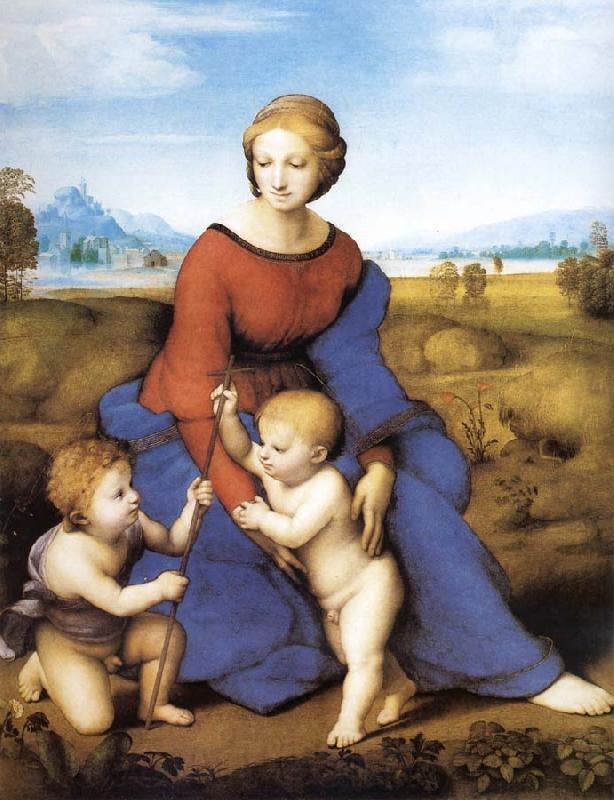 Raphael Madonna of the Meadows