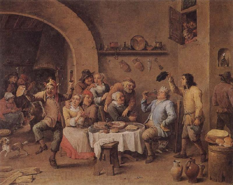 TENIERS, David the Younger Twelfth Night