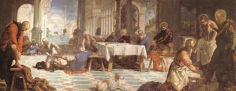 Tintoretto Christ Washing the Feet of His Disciples