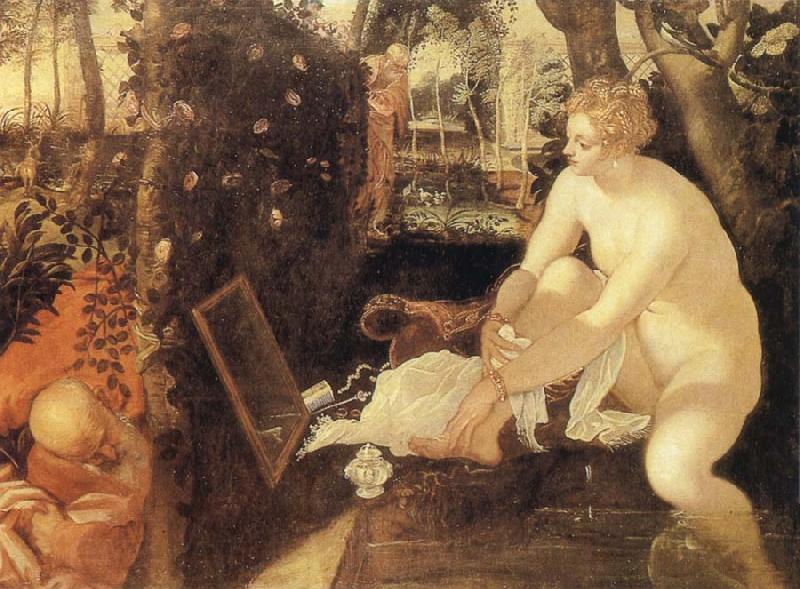 Tintoretto Susanna at he Bath
